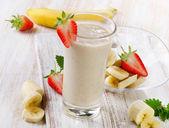 Banana Smoothie — Stock Photo