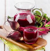 Beetroot juice — Stock Photo