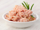 Canned tuna — Stock Photo