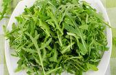 Fresh arugula salad — Stock Photo