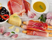 Italian appetizer — Stock Photo