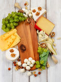Various  cheese — Stock Photo