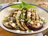 Gegrilde aubergine — Stockfoto