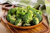 Green broccoli — Stock Photo