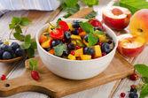 Salada de fruta saudável — Foto Stock
