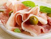 Cured ham — Stock Photo