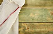 Kitchen napkin — Stock Photo