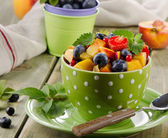 Healthy fruit salad — Stock Photo