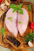 Chicken breast fillets — Stock Photo