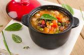 Soupe minestrone — Photo