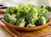 Brócolis verde — Fotografia Stock