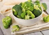 Fresh green broccoli — Stock Photo