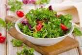 Salada de alface — Foto Stock