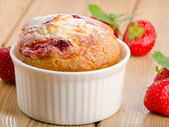 Hommade muffin — Stock Photo