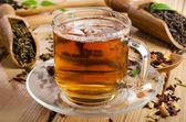 Black tea — Стоковое фото