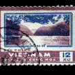 VIETNAM - CIRCA 1962: A stamp printed in Vietnam shows bay, circa 1962 — Stock Photo