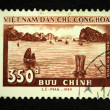VIETNAM - CIRCA 1959: A stamp printed in Vietnam shows bay, circa 1959 - Stock Photo