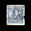 SWEDEN - CIRCA 1939: A stamp printed in Sweden shows Jons Jakob Berzelius, circa 1939 — Stock Photo