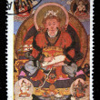 MONGOLIA - CIRCA 1980: A stamp printed in Mongolia shows Bogwa Lama - 18th century, series, circa 1980 - Stock Photo