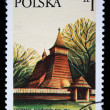 POLAND - CIRC1970s: stamp printed in Poland shows Debno Kosciolek, circ1970s — Stock Photo #12161619