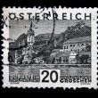 AUSTRIA - CIRCA 1931: A stamp printed in Austria shows Durnstein, circa 1931 — Stock Photo