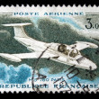 FRANCE - CIRCA 1965: a stamp printed by France show the glider MS 760 Paris, series, circa 1965. — Stock Photo