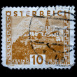 AUSTRIA - CIRCA 1931: A stamp printed in Austria shows Gussing, circa 1931 — Stock Photo