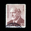 DDR - CIRCA 1960s: A stamp printed in DDR (East Germany) shows Hermann Duncker, circa 1960s - Stock Photo