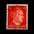 GERMANY - CIRC1939: stamp printed in Germany shows image of Adolf Hitler, circ1939 — Stock Photo #12165376