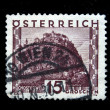 AUSTRIA - CIRCA 1931: A stamp printed in Austria shows Hochosterwitz, circa 1931 - Stock Photo
