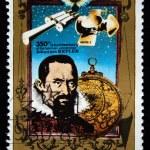 DPR KOREA - CIRCA 1980: A stamp printed in DPR KOREA (North Korea) shows Johannes Kepler, circa 1980 — Stock Photo #12165545