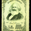 CHINA - CIRCA 1953: A stamp printed in China shows Karl Marx circa 1953 — Stock Photo