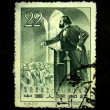 CHINA - CIRCA 1958: A stamp printed in China shows Karl Marx circa 1958 — Stock Photo