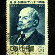 CHINA - CIRCA 1955: A stamp printed in China shows Lenin circa 1955 — Stock Photo