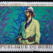 Republic of Burundi - CIRCA 1970s: A stamp printed in Burundi shows David Livingstone, circa 1970s - Stock Photo