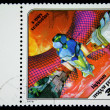 HUNGARY - CIRCA 1978: A stamp printed in Hungary shows satellite Mars, circa 1978 - Stock Photo