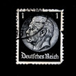GERMANY-CIRCA 1936: a stamp printed in the German Reich depicting the portrait of Otto von Bismarck, circa 1936 — Stock Photo