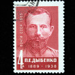 USSR - CIRCA 1969: A stamp printed in the USSR shows Pavel Dybenko, circa 1969 — Stock Photo