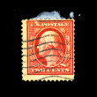 USA - CIRCA 1928: A stamp printed in USA shows President George Washington, circa 1928 - Stock Photo