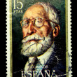 SPAIN - CIRCA 1971: A stamp printed in Spain shows Ramon Menendez Pidal, circa 1971 — Stock Photo