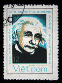 VIETNAM - CIRCA 1979: A stamp printed in Vietnam shows Albert Einstein, series, circa 1979 — Stock Photo