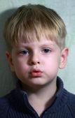 Boy portrait — Stock Photo