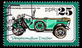 DDR - CIRCA 1970s: A stamp printed in DDR (East Germany) shows car, circa 1970s — Stock Photo
