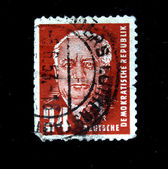 DDR - CIRCA 1950: A stamp printed in DDR (East Germany) shows Ernst Thalmann, circa 1950 — Stock Photo