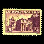 POLAND - CIRCA 1945 — Stock Photo