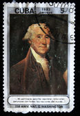CUBA - CIRCA 1982: Postal stamp showing 1'st president of USA George Washington, circa 1982 — Foto Stock