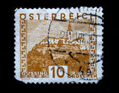 AUSTRIA - CIRCA 1931: A stamp printed in Austria shows Gussing, circa 1931 — Stockfoto