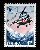 POLAND - CIRCA 1968: a stamp printed in the Poland shows Zephyr, Polish Glider, circa 1968 — Stock Photo