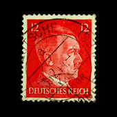 GERMANY - CIRCA 1939: A stamp printed in Germany shows image of Adolf Hitler, circa 1939 — Stock Photo