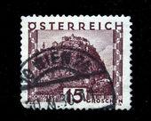 AUSTRIA - CIRCA 1931: A stamp printed in Austria shows Hochosterwitz, circa 1931 — Stock Photo